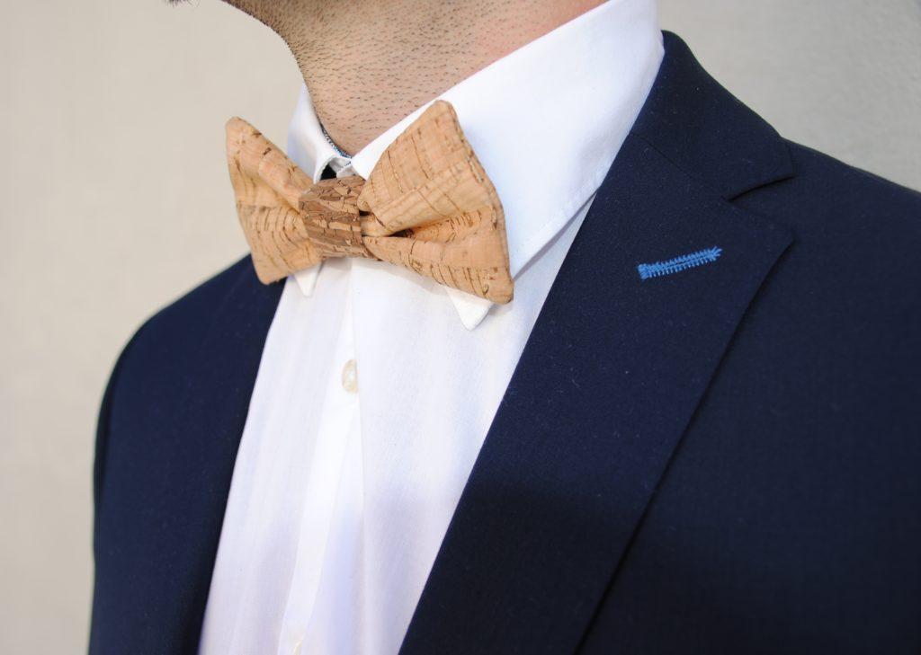 Näidee Nähen mit Kork Nähen für den Mann Männerfliege Hochzeitsanzug