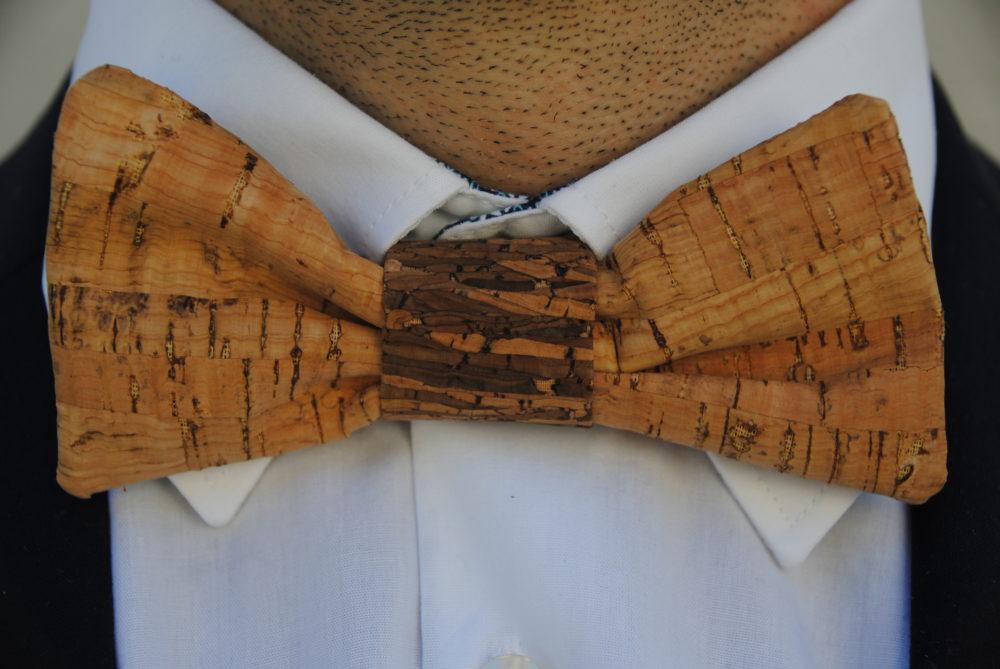 Kork Fliege, Nähen mit Kork, Nähideen, Nähen für den Mann, Hochzeiten, Anzug